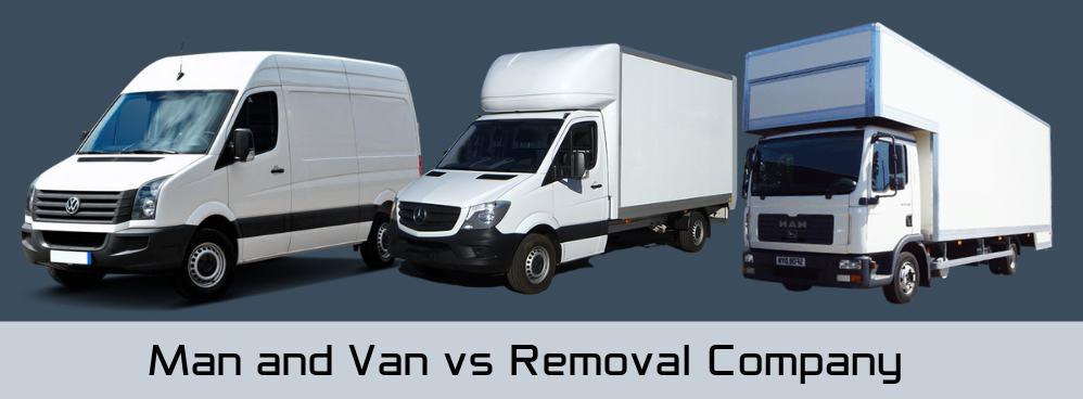 Man with Van versus Removal Company